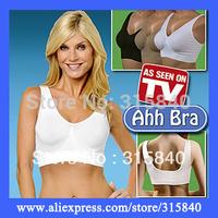 3pcs New 2014 Ladies Underwear Sports Bra Without Steel Prop Women Ahh Seamless Leisure Genie Bra Bodysuit With OPP Bag -- MTV59