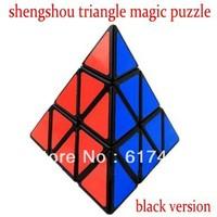 shengshou pyraminx magic cube triangle  high quality cube-white version