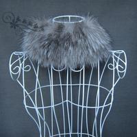 2012 fur fox fur muffler scarf thermal wigs knitted Size fits all elastic muffler scarf