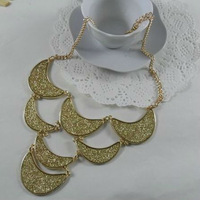 SMN8065 gold necklace models 2013 one direction necklace 6PCS/LOT FREE SHIPPING