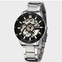 Free Shipping!!! Hot Sale EYKI Archer Waterproof Skeleton Mechanical  Watch For Men