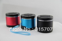 3 pieces/lot promotion Rechargeable Wireless Mini Portable Bluetooth Speaker for  Laptop Computer psp mobilephone etcs