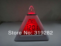 LED Color-Change Alarm Clock  Fashion Electronic Screen Romantic  #nk044