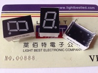 0.5inch 1 digital 7segment display Blue Color LBT5101AB Common Cathode size 12.70x19.0x8.0mm