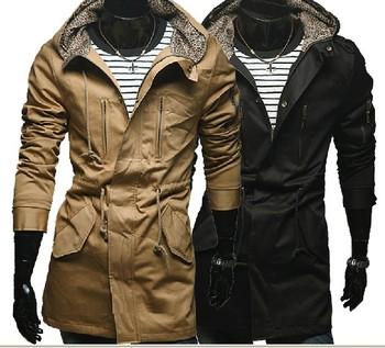 hot 2013 new men's Hoodies & Warm Cotton coat Mixed colors Men wadded male Outwear Jacket No:2404