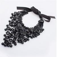 2013 New design Fashion Collars Flower Fake Choker Necklace Women Wholesale