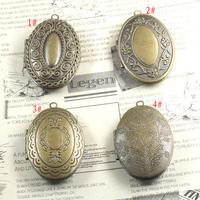 26*41*9mm mix styles free shipping wholesale 10pcs/lot photo locket bronze
