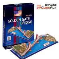 3D puzzle GOLDEN GATE BRIDGE   building model educational toy free shipping