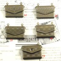 20mm*14*4mm mix styles free shipping wholesale photo locket pendant