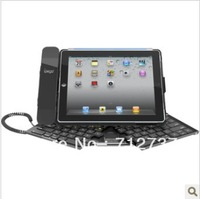 New Style Mobile Bluetooth Keyboard for iPad2/iPad3/ipad4 of Headset Design - Black