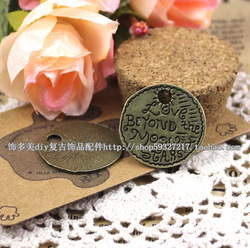 Diy accessories material small accessories love beyond the moon stars hangings q37(China (Mainland))
