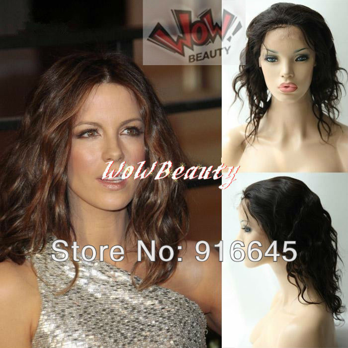 FREE SHIP!!Lace front stretch lace back,Brazilian virgin remy,SEXY BODY WAVE,#2 10inch One size fit all MOST CHARMING(China (Mainland))