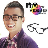 Free Shipping! 33 eyeglasses frame vintage big box black non-mainstream decoration glasses