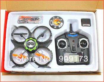 Newest UDI U816A 2.4Ghz 4 CH Mini RC 4 Axis UFO Aircraft Quadcopter RTF,V911 U816 Upgrade + Free Shipping