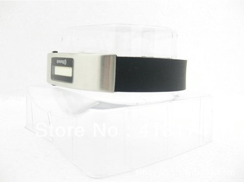 Free Shipping Silicon Vibrating Bluetooth Bracelet With OLED Caller's ID Display For Mobile Phone Bluetooth