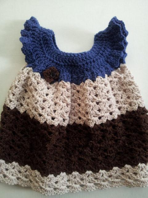 Lujo Patrón De Crochet Libre Para El Bebé Friso - Ideas de Patrones ...
