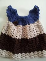Wholesale sleeveless lace & Hollow crochet princess dress baby ball gowns kids dresses girls floral dresses