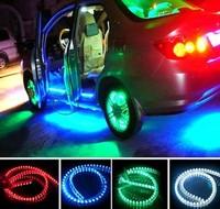 Free shipping 120cm car  led lamp Strips Driving Daytime Running Light Bar chassis lamp wheel light 12v four colors