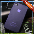 Wholesales For iphone 4G 4S case many colors double-sided PC Ultra Slim Case Cover Skin free shipping