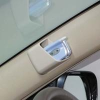 Hot sale Car paste 1pair Car multifunctional mobile phone card holder bag case glove box  Free shipping
