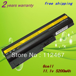 6cell Rechargeable laptop battery For IBM ThinkPad R60 ,T60,42T4513,40Y6799,42T4504,ASM 92P1138,92P1140,92P1142,FRU 42T4504+Gift(China (Mainland))