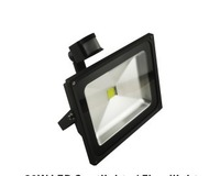 20W PIR Motion detective Sensor LED Flood light Outdoor Black Floodlight Cool|Warm White 85V-265V Free Shipping