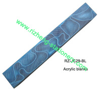 pen blanks in fancy colors/finishes, 2*2*13cm, RZ-JC29-BL.