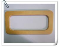 "FREE SHIPPING 8.3""*4.15"" rectangular wood handbag handles"