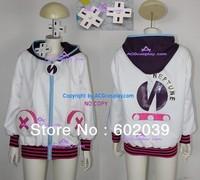 Hyperdimension Neptunia Neptune Purple Heart Cosplay Costume include hair ornament
