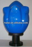 pc lamp spher for outside garden lighting shade