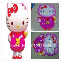 50pcs/lot New Hot !! Hello Kitty Walking Balloon Pet/ Party Decoration/Holiday Balloon/ Kids Gift Free Shipping