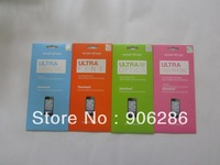 SGP Clear Screen Protector For apple iphone 5 5G With Retail Package Screen film 7 style front and back 10pcs/lot