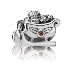 Min order $10 Free Shipping 1Pc Silver Bead Charm European Silver sleigh car Bead Fit BIAGI Bracelet H706(China (Mainland))
