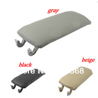 Beige/Black/Gray Arm Rest Armrest Center Console Cover Lid For AUDI A4 S4 A6 ALLROAD 00-06+Free Shipping