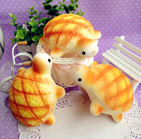 NEW 14cm jumbo tortoise / turtle bread bun  Squishy Cell Phone Charm/free shipping