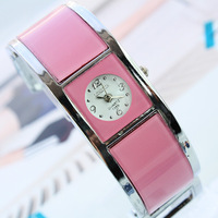 F03932-7 Fashion concise causul Quartz Crystal Bracelet Wrist Watch for Women Ladies + free shipping
