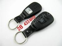 1pcs/lot Brand New 2 Button Hyundai Old Elantra,Santa Fe Remote Key 433MHZ,remote control key for Hyundai Old Elantra,Santa Fe