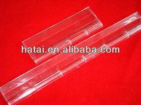 300mm length clear acrylic hinge