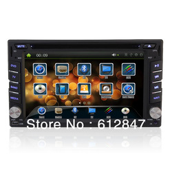"The fastest Double Din 6.2"" Car DVD Player Bluetooth MP3/4 USB/SD Radio Stereo Touch Screen(China (Mainland))"