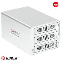Orico 3539susj3 usb3.0 hard drive box serial hard drive box aluminum hard drive cabinet pull box 12tb