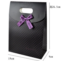 Free Shipping,26.5x19x9cm High Quality Christmas Paper Jewelry Gift Candy Packaging Pouches