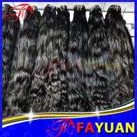 Fayuan hair:6a unprocessed virgin hair,indian loose wave 3pcs/lot, 100% natural color human hair free shipping