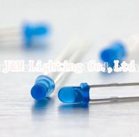 Free shipping 3mm Blue Diffused LED LBT30B2D-EHE-B 2.9~3.5V 800~1000mcd 60deg