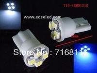 T10 4SMD LED Auto Bulbs Car 194 168 192 W5W car Lamp Wedge Interior Light