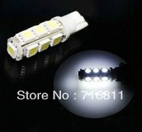 T10 13SMD 5050 LED Auto Bulbs Car 194 168 192 W5W car Lamp Wedge Interior Light SUPER BRIGHT