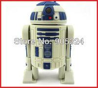 Full capacity Star Wars Robot usb flash drive memory disk Pvc Flash Memory Drive 2GB 4GB 8GB 16GB Free Shipping+10pcs/lot