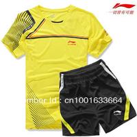 Free shipping New Lining / Li Ning men's badminton Suit badminton clothing sportswear suit 36035
