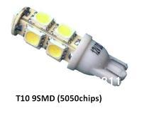 LED Auto Bulbs T10 9SMD 5050 Car 194 168 192 W5W car Lamp Wedge Interior Light
