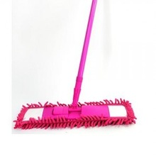Chenille ultrafine fiber retractable cleaning brush mop(China (Mainland))