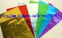3000pcs chocolate tin foil/candy aluminum foil/tea packaging tin foil 15*15cm